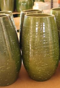 Anna vases green